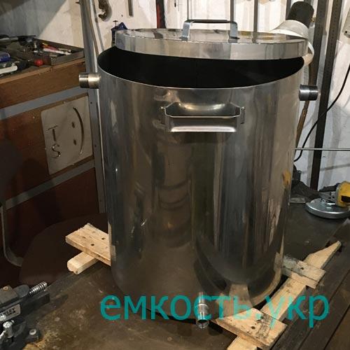 Кастрюля нержавейка с крышкой 70 литров