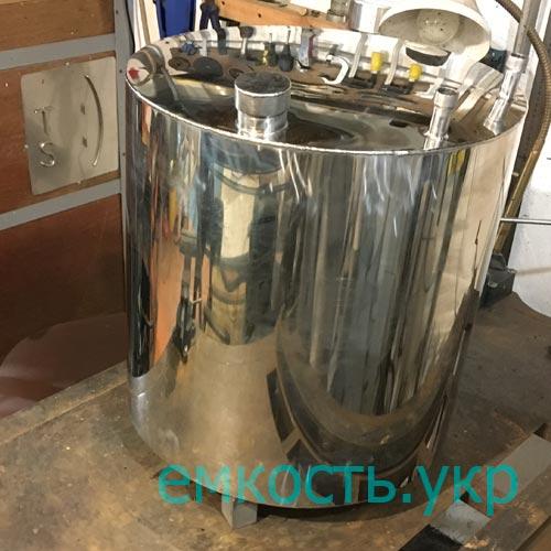 Бочка нержавейка 50 литров под теплообменник масляный