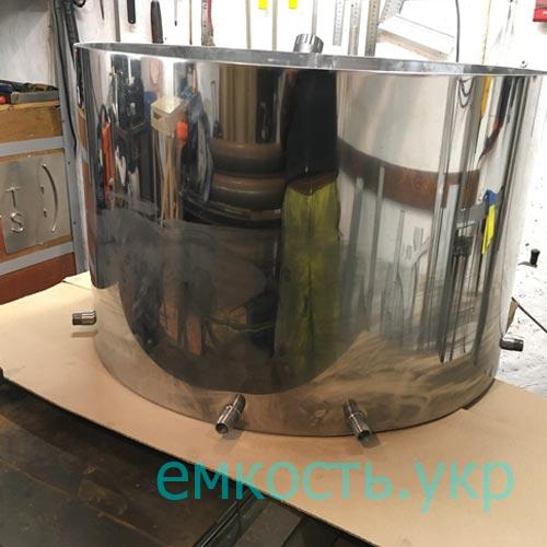 Бочка нержавейка для разлива воды 170 литров
